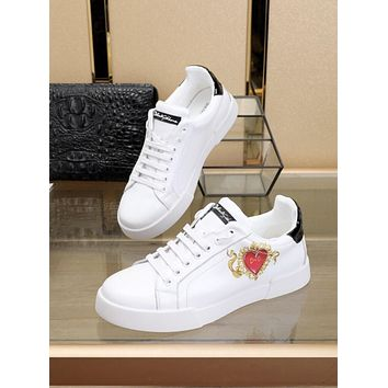 Best Quality DG Dolce & Gabbana 2020 Popular Men Casual Breathable Canvas Sneakers Running Shoes TREDING mens D&G low top shoe boots