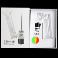 CleanVapor 510 Nail Wax Vaporizer Kit with Glass Percolator