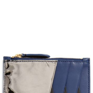 Diane von Furstenberg Leather Card Case | Nordstrom