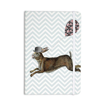 "Suzanne Carter ""Hare Today"" Rabbit Everything Notebook"