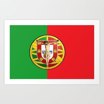 Portuguese religious culture Art Print by Tony Silveira