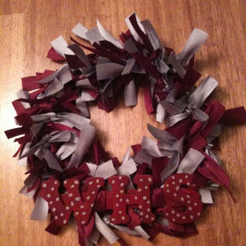 School Spirit Ribbon Wreath