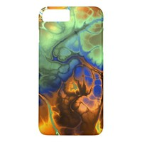 Flaming Fractal iPhone 7 Plus Case