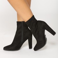 Let's Go Now Bootie - Black
