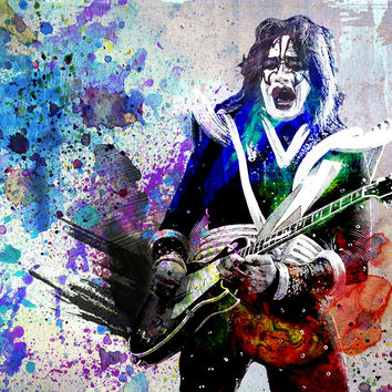 Ace Frehley Art - KISS