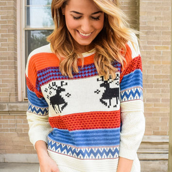 Oh Deer Fairaisle Sweater