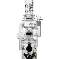 """19"""" Stemless + 6 Tower Showerheads + Crystal Ball + 8 Arm Tree + Drum Beehive + 3 Arm Recycler + Heart Honeycomb + Ice Catcher Lookah water pipe"""