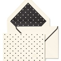 kate spade new york dot note cards (set of 10)