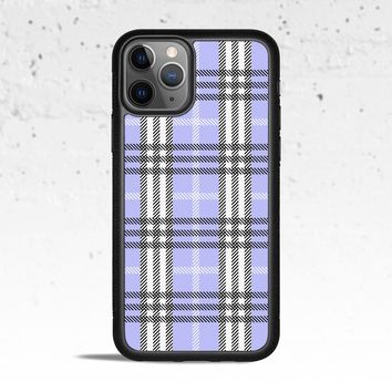 Plaid Lavender Phone Case Cover for Apple iPhone Samsung Galaxy S & Note