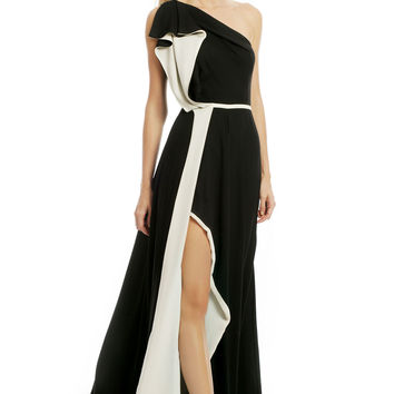 Halston Heritage Pleasing To The Eye Gown