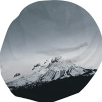 Mount Hood created by Leah Flores | Print All Over Me