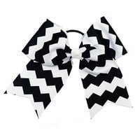 chevon cheer bow