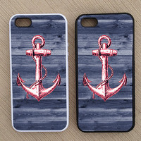 Cute Nautical Anchor Summer Preppy iPhone Case by BeeCoolShop