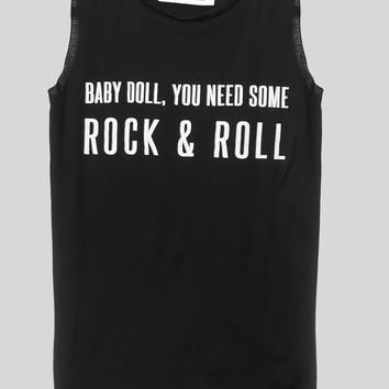 Baby Doll Muscle Tank - Clothes at Gypsy Warrior