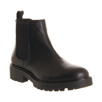 Vagabond Kevova Chelsea Black Leather - Ankle Boots