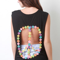 Floral Piece Sign Top