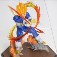"Dragon Ball Z - Super Saiyan Vegeta ""Final Flash"" Action Figure"
