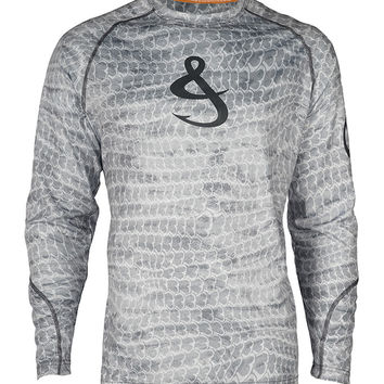 Men's Aquaman L/S UV Fishing Shirt