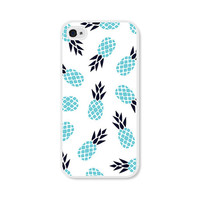 iPhone Case - Pineapple iPhone 5c Case - Pineapple iPhone 5 Case - Pineapple iPhone 4s Case - Pineapple iPhone 5s Case - Blue Aqua Turquoise