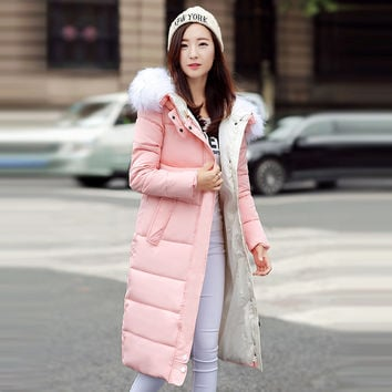 Winter Jacket Women 2016 Winter And Autumn Wear High Quality Parkas Winter Jackets Outwear Women Long Coats