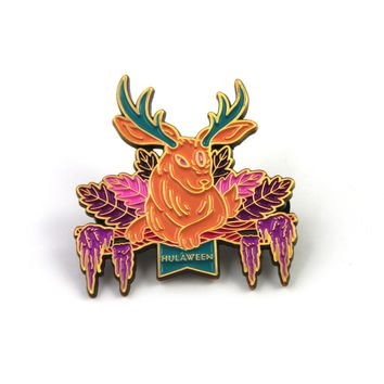 The 2017 Official Hulaween 'Jackalope' Pin