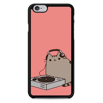 Pusheen The Cat Dj iPhone 6/6S Case