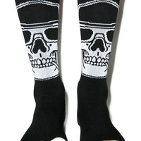 Rebel8 Smoked Loc Socks Black One