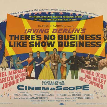 There's No Business Like Show Business 11x14 Movie Poster (1954)