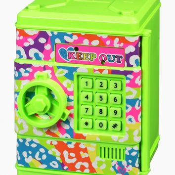 Rainbow Animal Electronic Push Code Safe