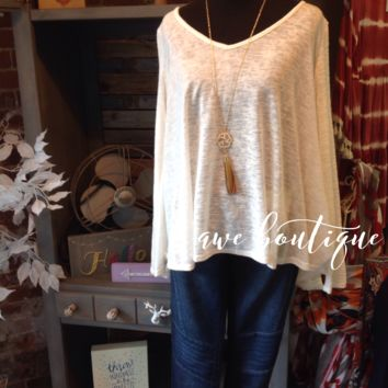 Previously Loved white w/ lace back