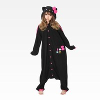 Hello Kitty Onesuit: Colorful Black