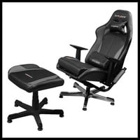 Dxracer Video Game Chair + Ottoman Kc57ng/suit Gaming Chair Tv Lounge Chair