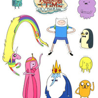 ADVENTURE TIME MAGNET SET