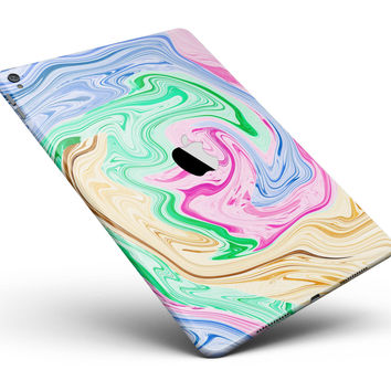 "Mixed ColorOil Full Body Skin for the iPad Pro (12.9"" or 9.7"" available)"