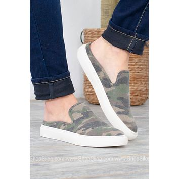 Abbot Camo Slip On Shoes