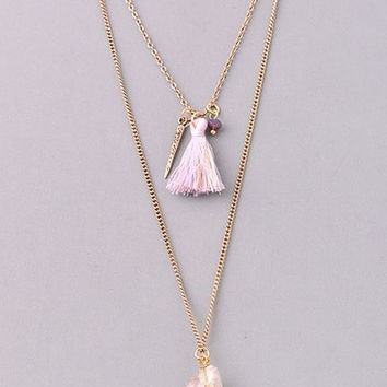Valerie Tassle Necklace