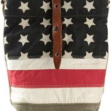 Ralph Lauren Denim & Supply Stars And Stripes Shoulder Bag
