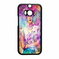 Frida Kahlo Flower Paintings On Galaxy Nebula HTC One M8 Case