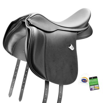 Bates (CAIR) WIDE All Purpose Saddle with Heritage Leather