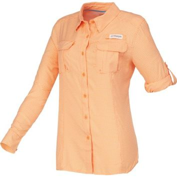 Magellan Outdoors™ Women's Aransas Pass Long Sleeve Printed Top | Academy