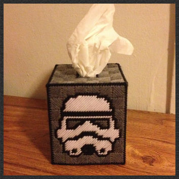 Star Wars Stormtrooper Tissue Box