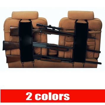 The front seat back rest pocket gun sling gun rack camouflage hanging bag for car shotgun holsters Rifle Pick Up Truck Gun Sling