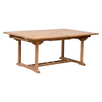 Misty Isle Outdoor Extendable Dining Table