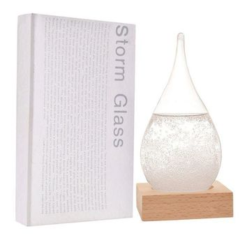 ONETOW FOXKEY Creative Stylish Desktop Drops Storm Glass Crafts Weather bottle Forecast Bottle Barometer (Mini-612)