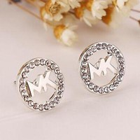 8DESS Michael Kors MK Women Diamonds Fashion Stud Earring Jewelry