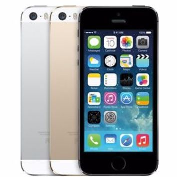 "Apple iPhone 5S 16GB ""Factory Unlocked"" Gray - Gold - Silver  Smartphone"