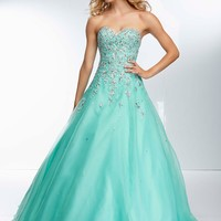 Paparazzi by Mori Lee 95097 Organza Prom Dress