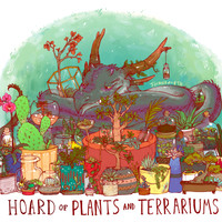 HOARD OF PLANTS AND TERRARIUMS