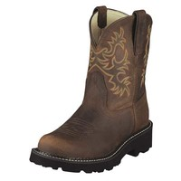 Ariat Women's Fatbaby Original Boots - Distressed Brown - 10007646
