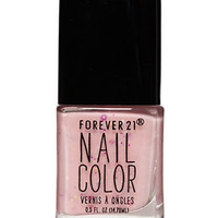 Light Pink Confetti Nail Polish